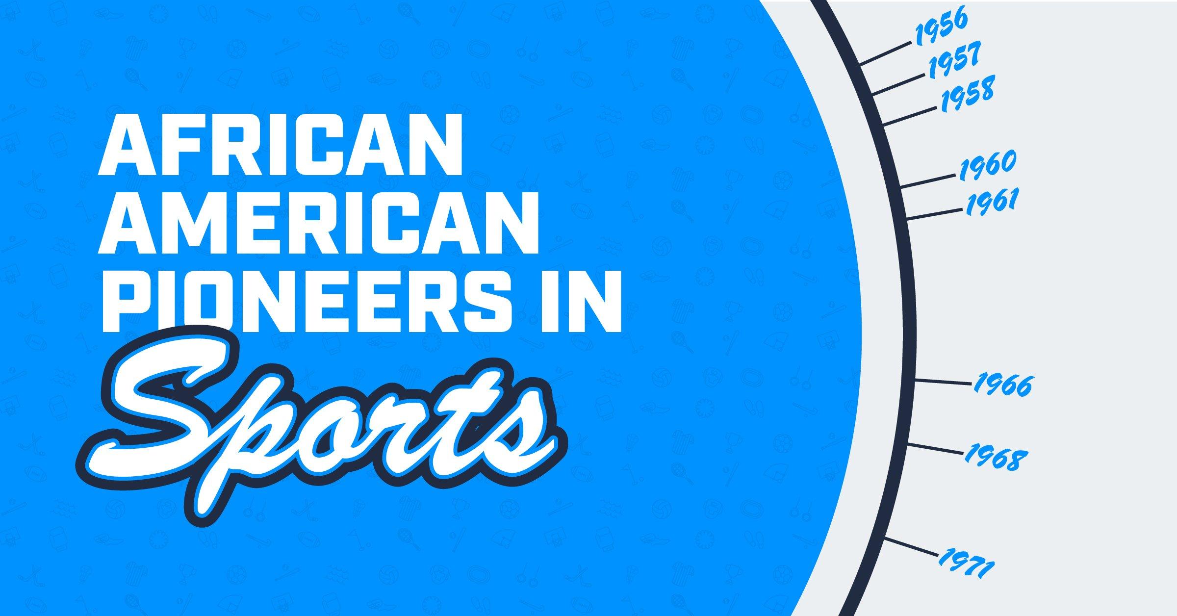 African American pioneers in sports