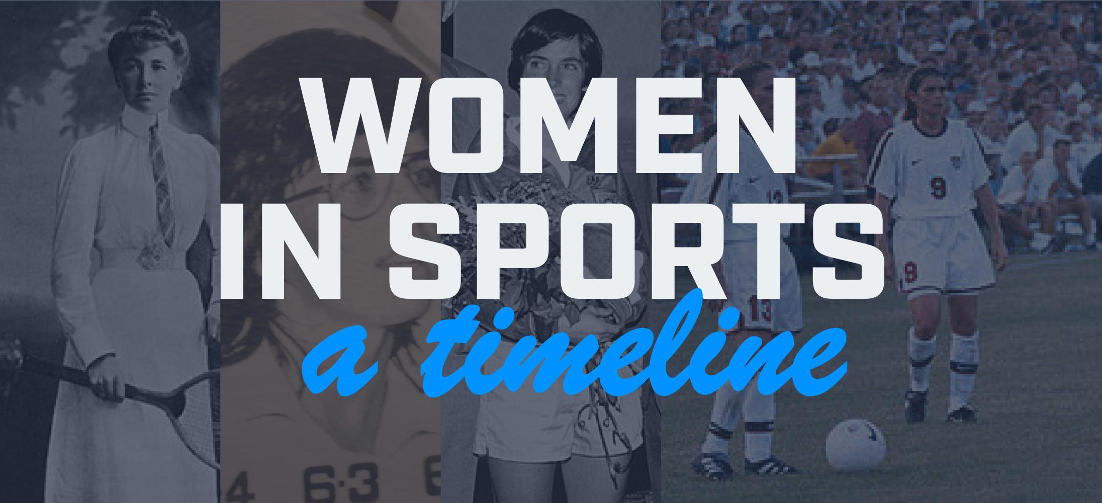 Women in Sports - A Timeline
