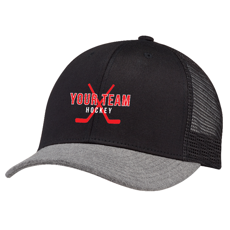 Youth Team Structured Mesh Adjustable Cap
