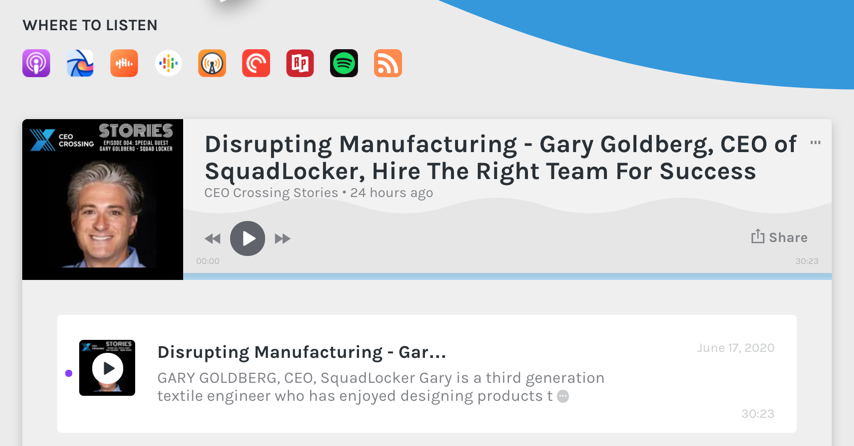 Gary Goldberg Disrupts Manufacturing