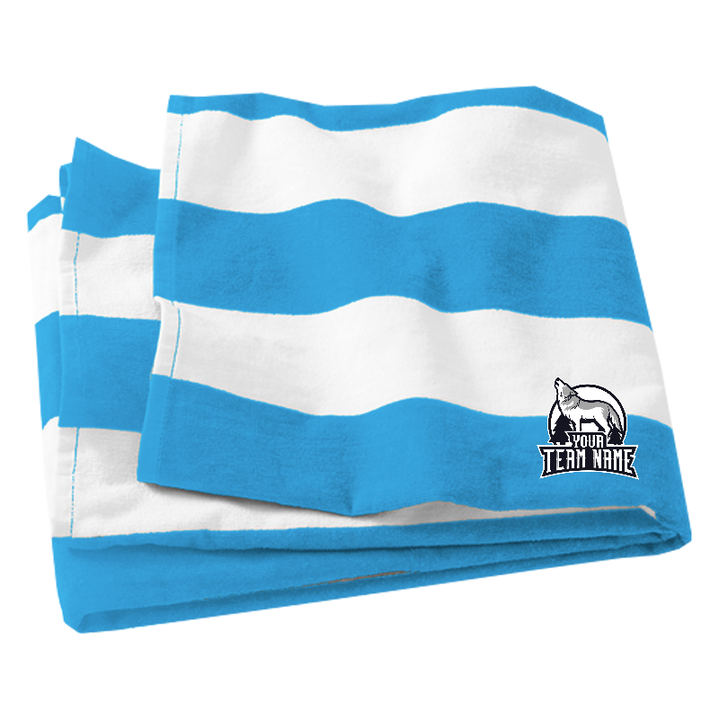 Port Authority Cabana Stripe Beach Towel
