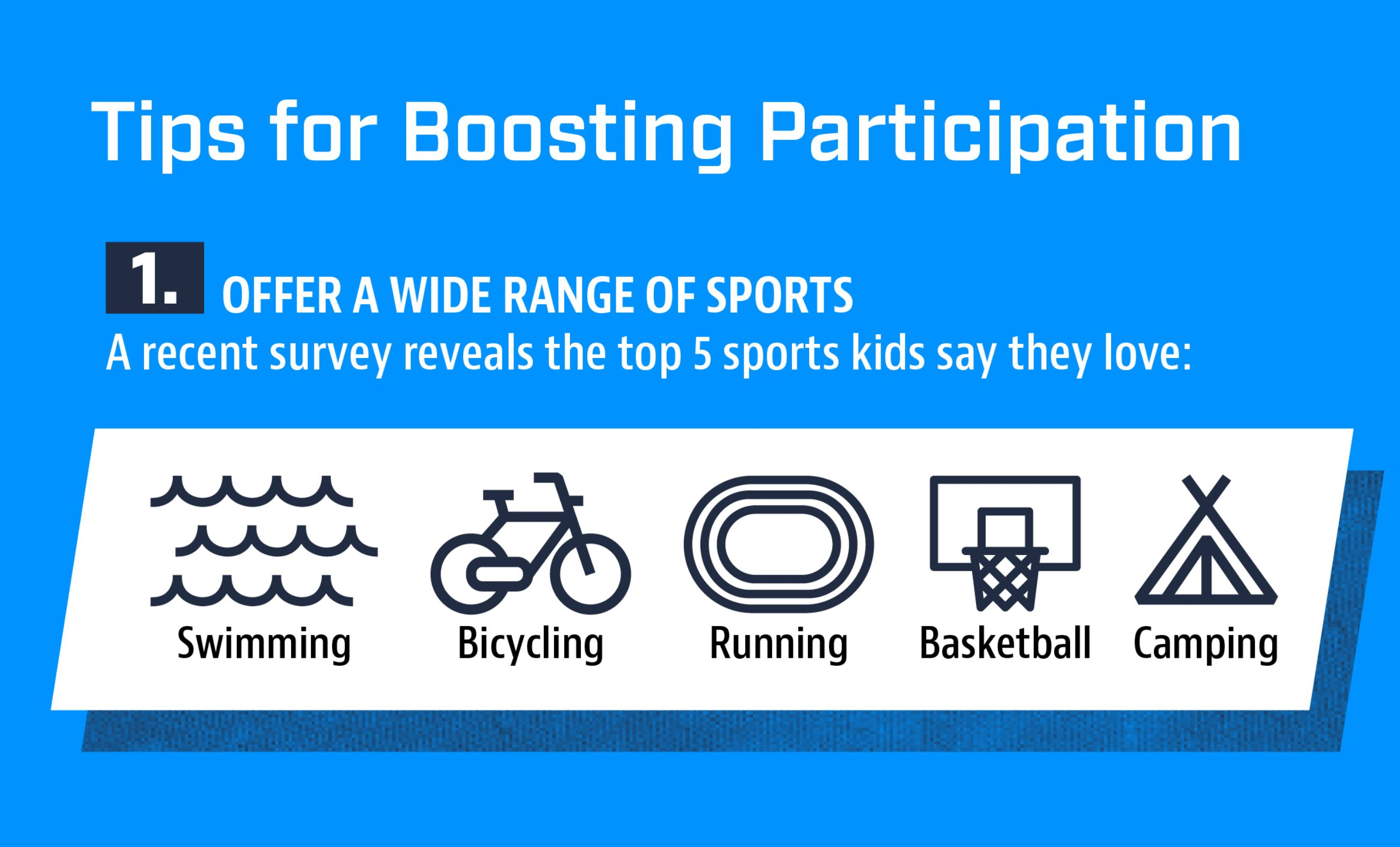 Boosting Participation in Youth Sports [+ INFOGRAPHIC]