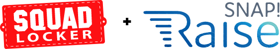 SquadLocker and SnapRaise Logos