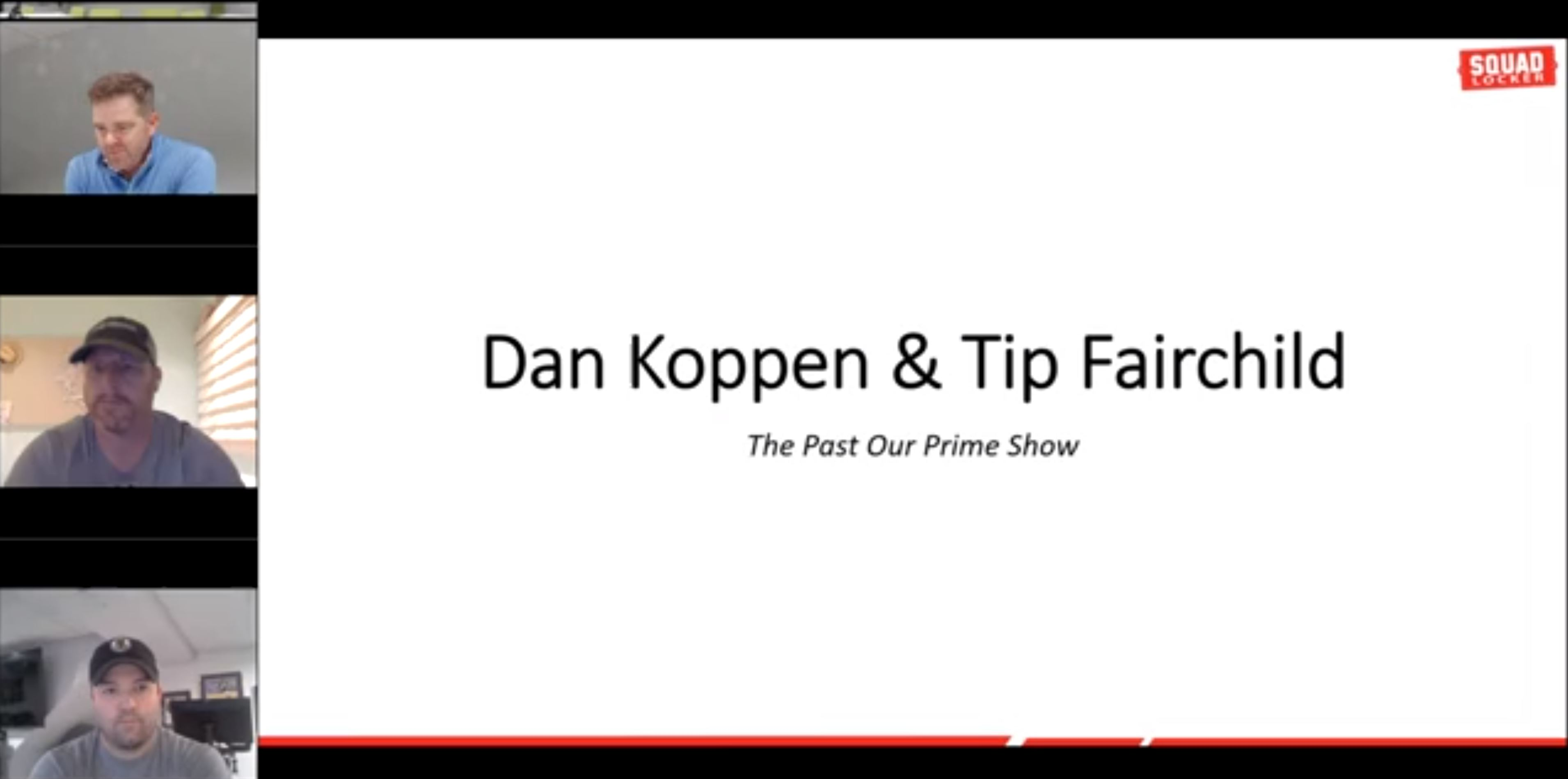 Past Our Prime show - Tip and Dan talk with Drew Omicioli and Tim Kelleher