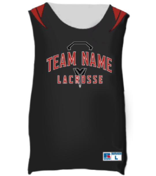 Russell Freestyle Sublimated Reversible LAX Pinnie@2x