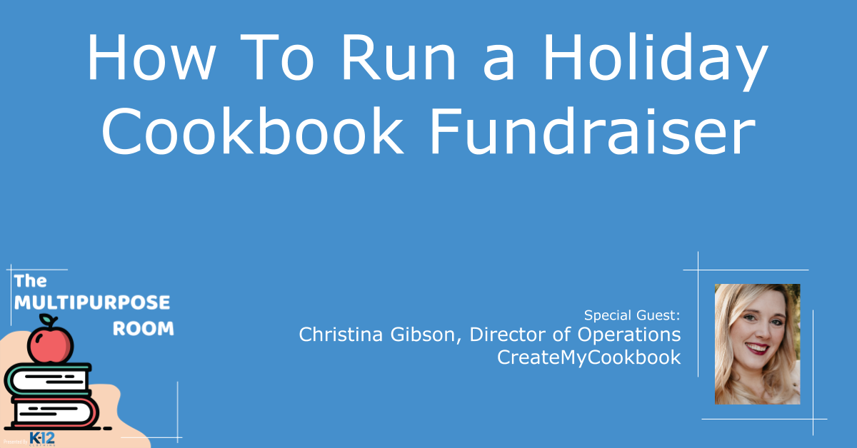 5 Ingredients for a Profitable Holiday Cookbook School Fundraiser