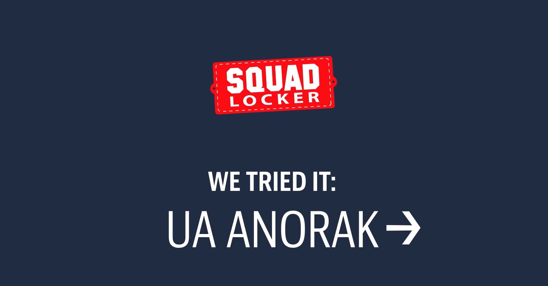 We Tried It: UA Terry Fleece Anorak