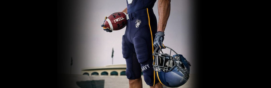 NAVY FOOTBALL UNIFORMS